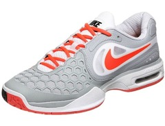 Nike Air Courtballistec 4.3 Grey/Orange Men's Shoe