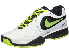 Nike Air Max Courtballistec 4.3 Wh/Bk Men's Tennis Shoe